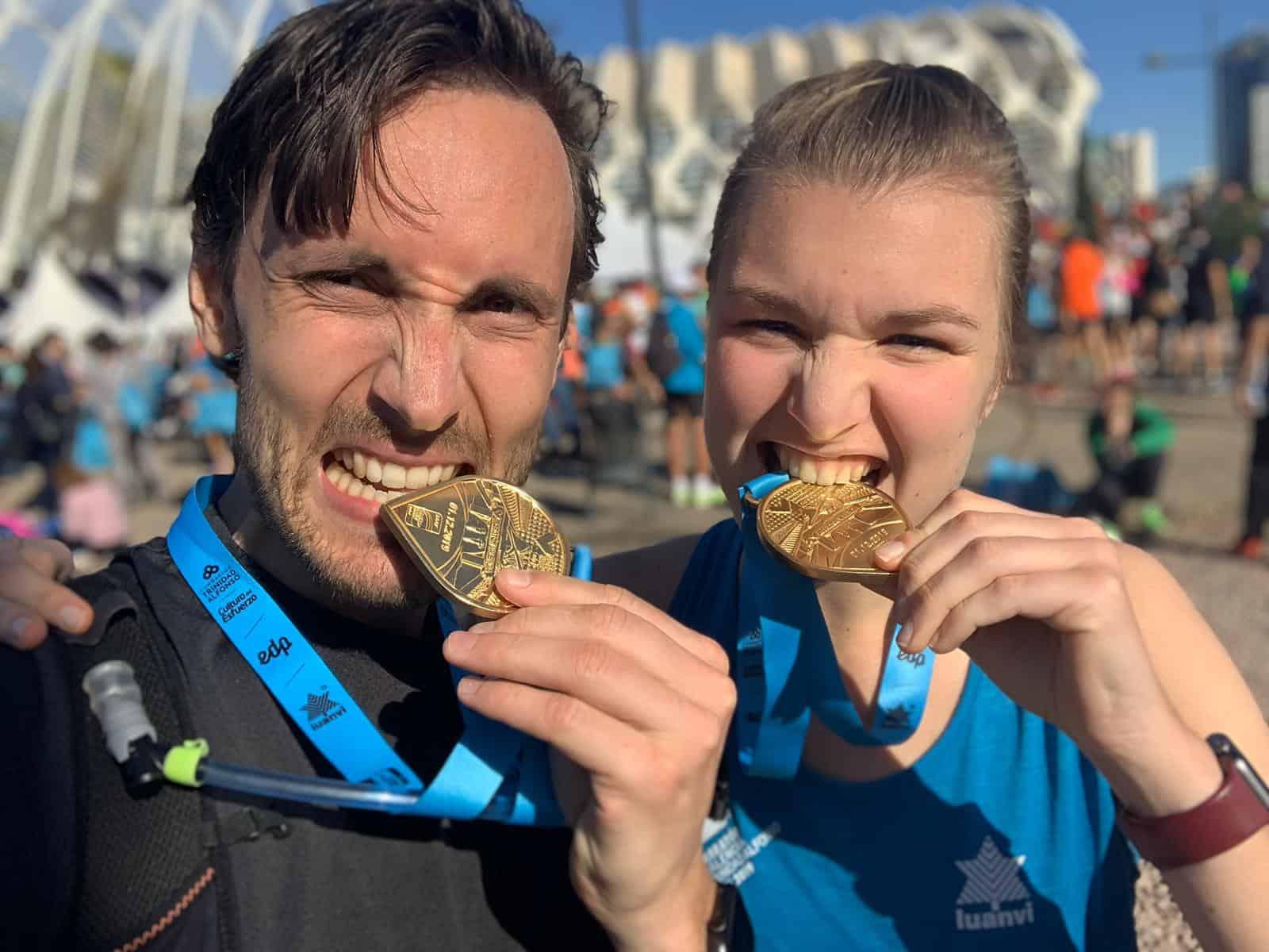 Marathons lopen doe je bij Training te velde!